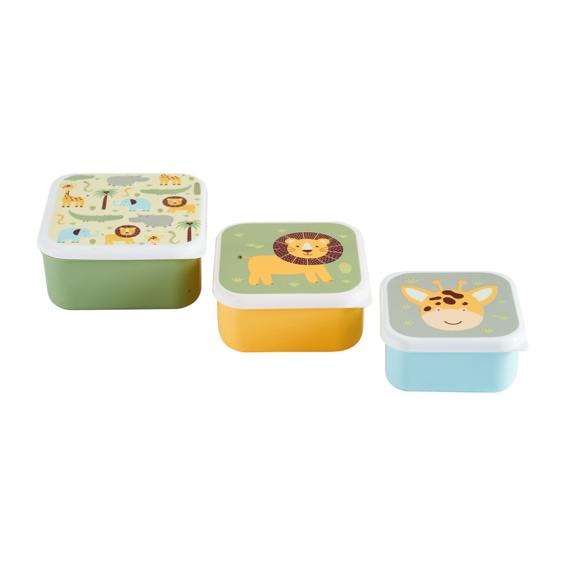Snackboxje - set van 3