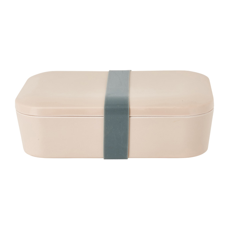 Lunchbox - beige - 18,5x12,5 x 6,3 cm