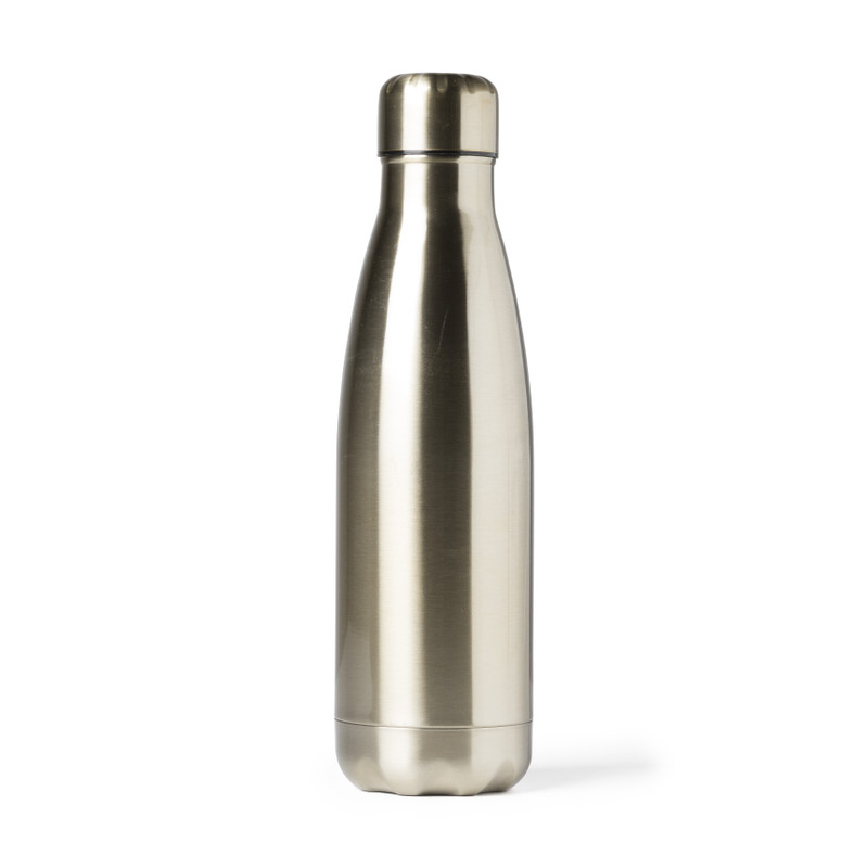 Thermosfles to go - goud - 450 ml