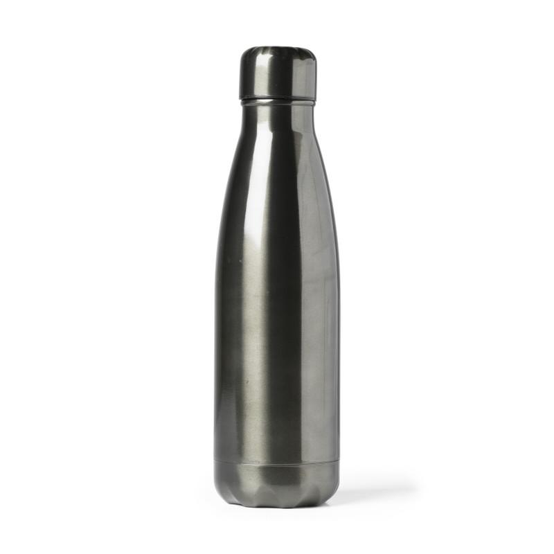 Thermosfles to go - zwart - 450 ml