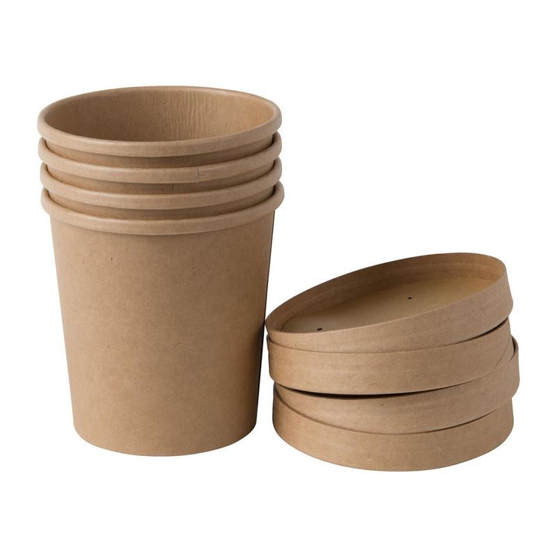 Soep/ijs cup to go - set van 4