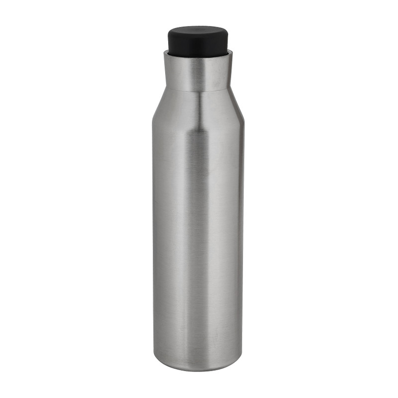 Thermo drinkfles zilver - 600 ml