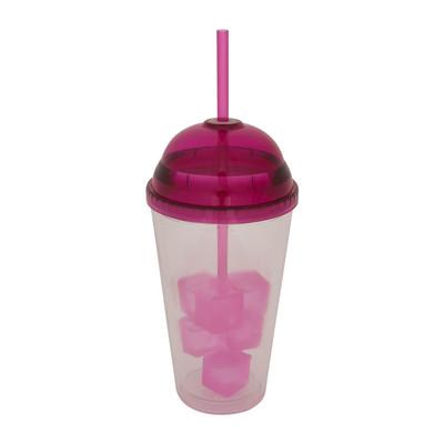 Milkshakebeker - 45 cl - roze