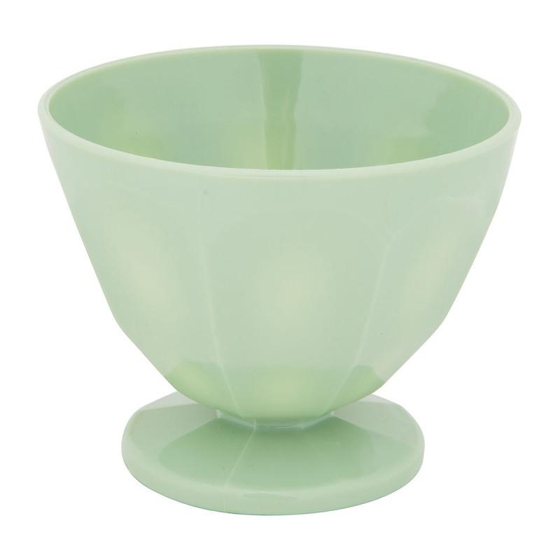 IJsschaaltje - 12x9.5 cm - groen