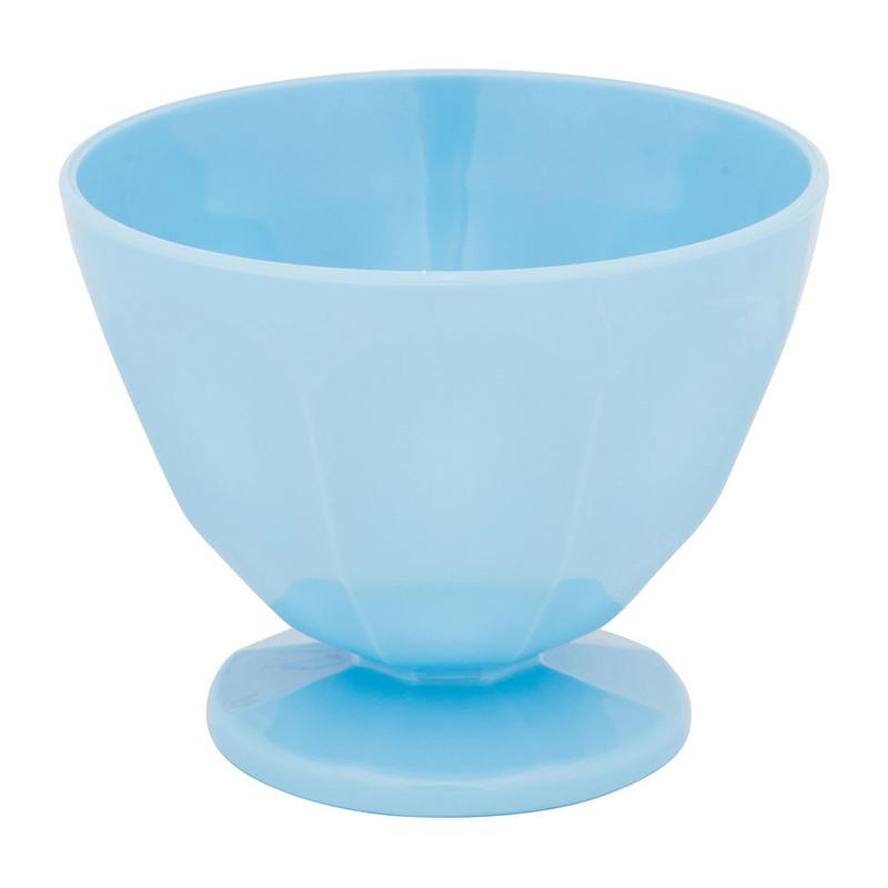 IJsschaaltje - 12x9.5 cm - blauw