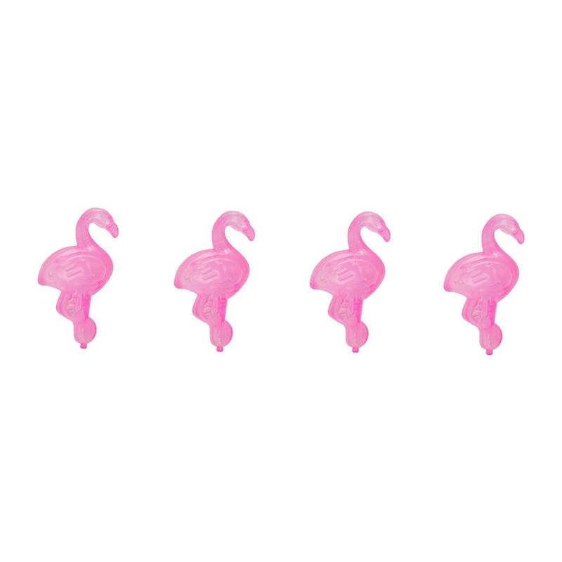 IJsblokjes flamingo - set van 4