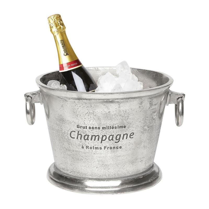 Champagnekoeler zilver