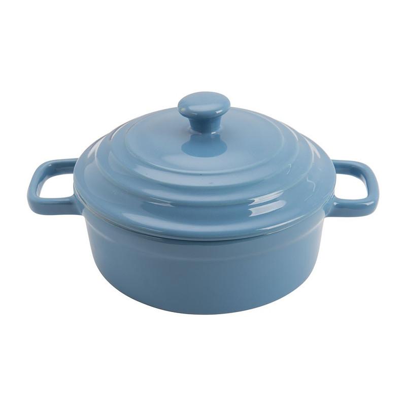 Cocotte - 15 cm - blauw