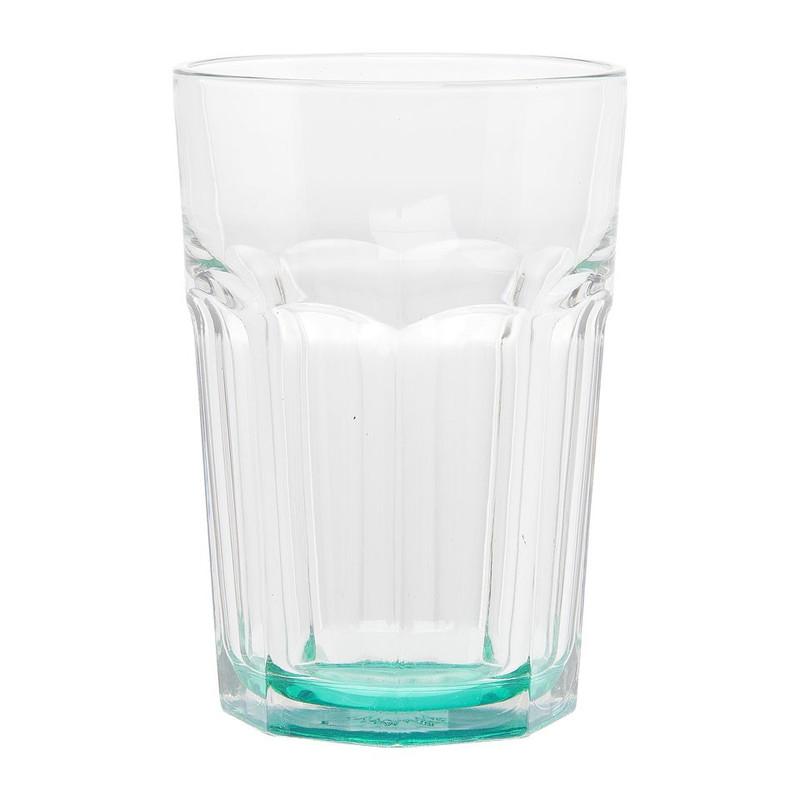 Glas facetten gekleurd groen