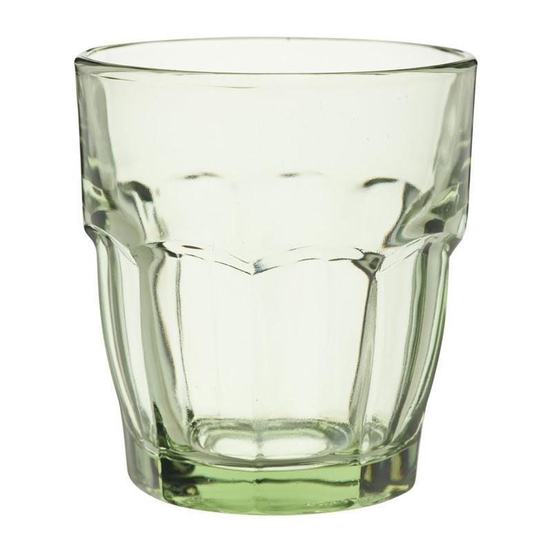Glas rock bar - 27 cl - groen