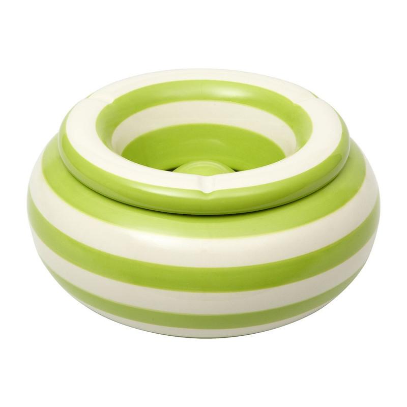 Stormasbak ringen - Ø21 cm - groen