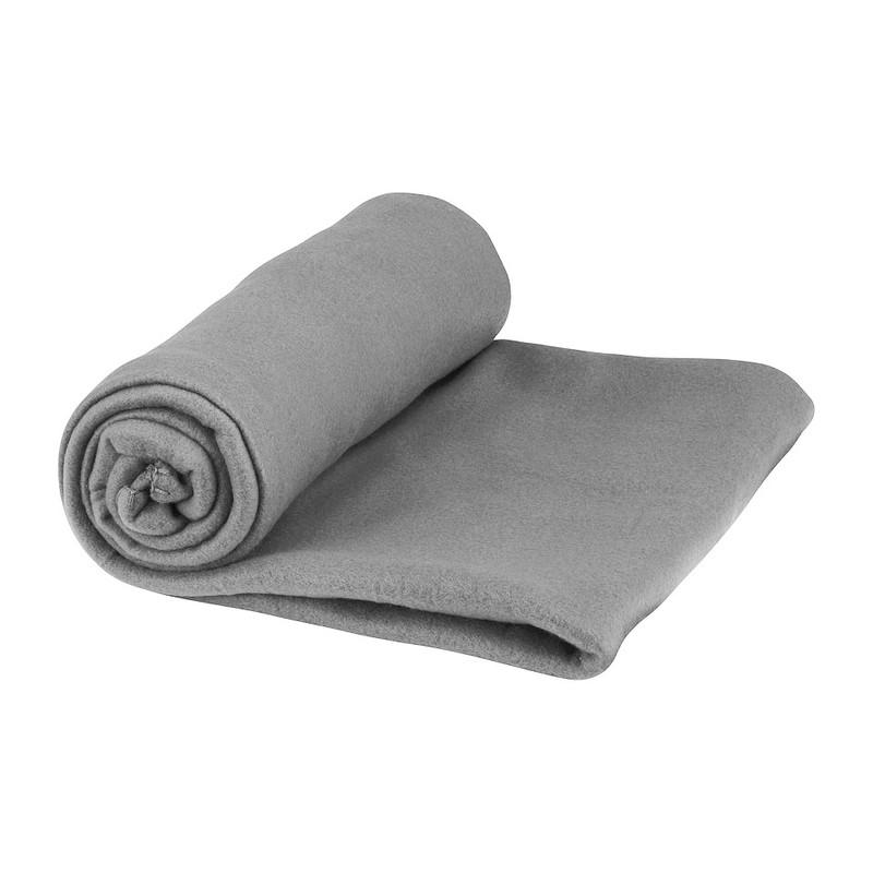 Fleecedeken - 130x170 cm - grijs