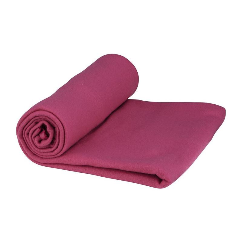 Fleecedeken - roze - 130x170 cm