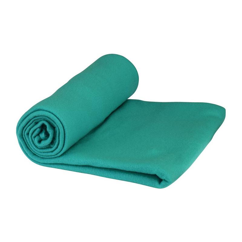 Fleecedeken - turquoise