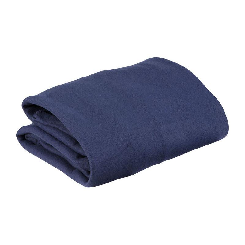 Fleecedeken met mouwen - 136x170 cm - blauw