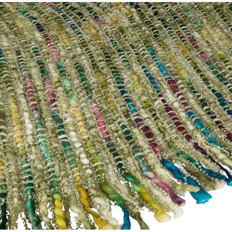 Plaid geweven - 125x150 - groen