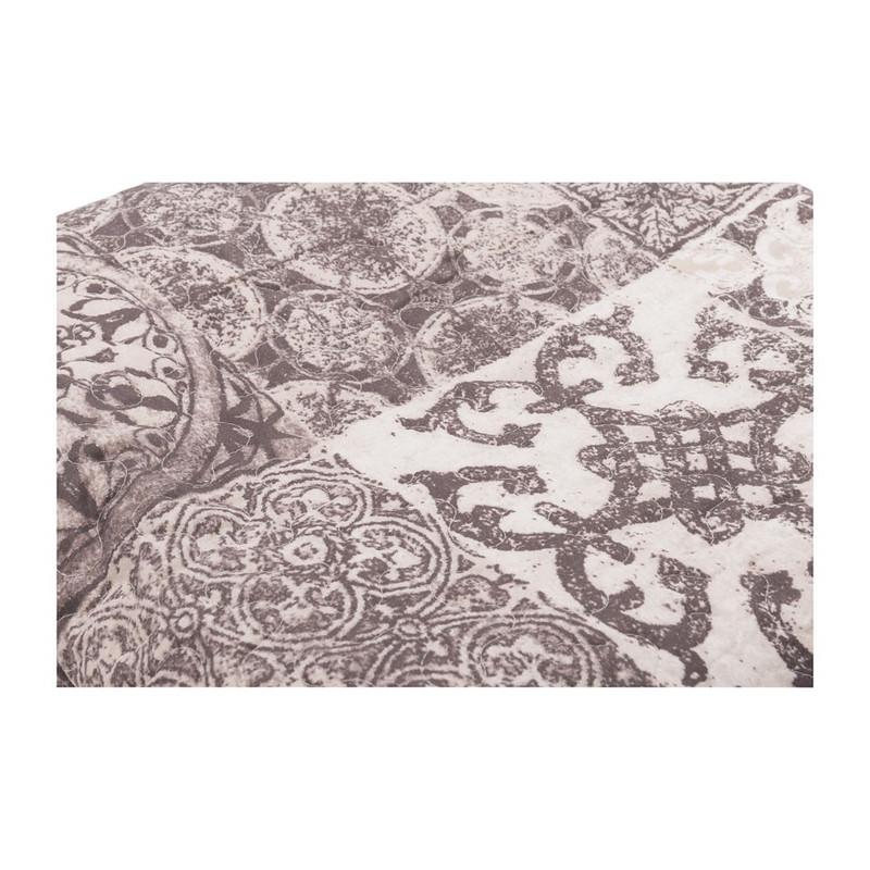 Quilt Tegel - grijs - 200x240 cm