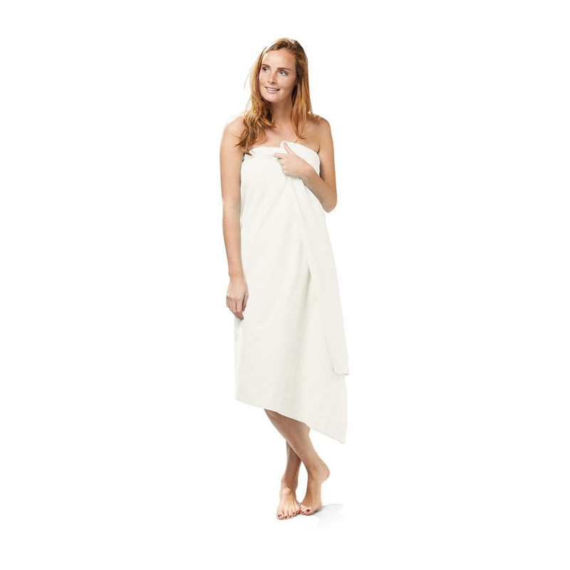 Grand foulard / omslagdoek - wit - 150x250 cm