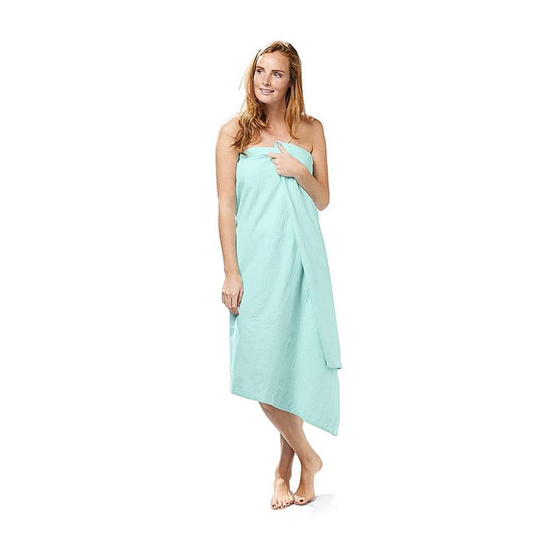 Grand foulard / omslagdoek - turquoise - 150x250 cm