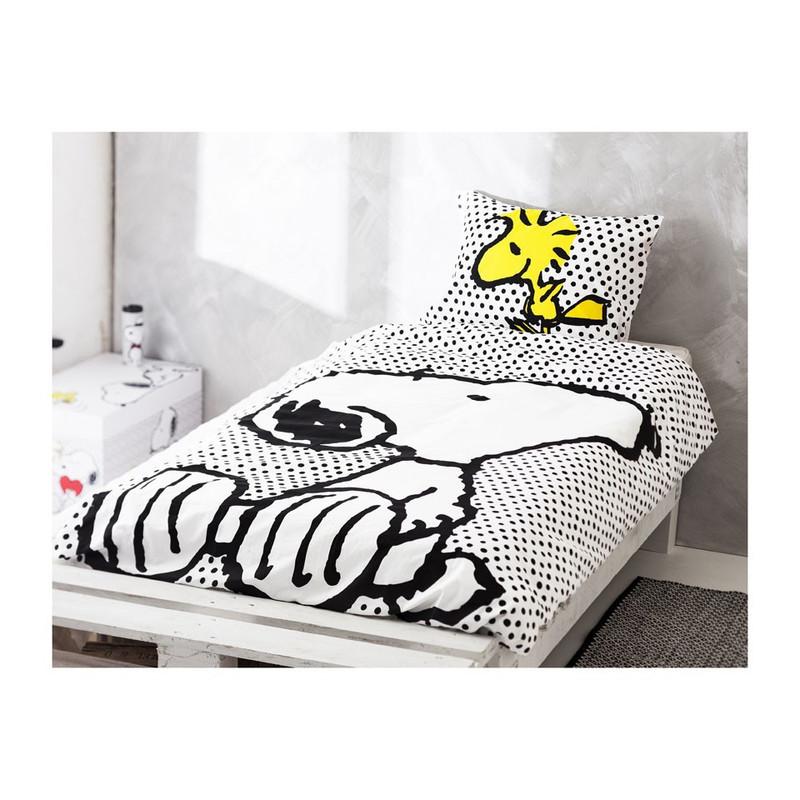 Dekbedovertrek Snoopy - 140x200 cm