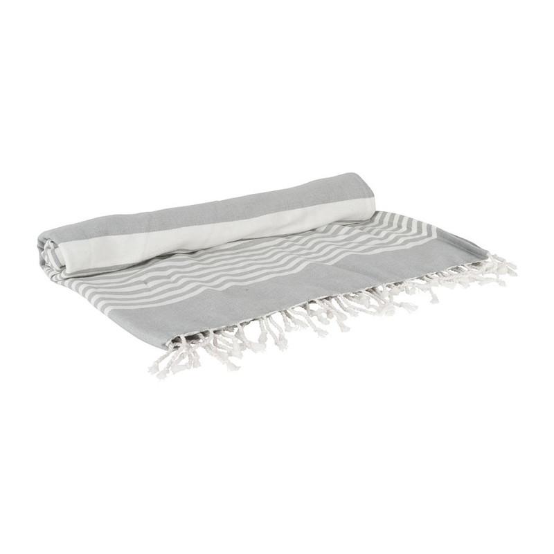 Hamamdoek basis - 180x100 cm - grijs