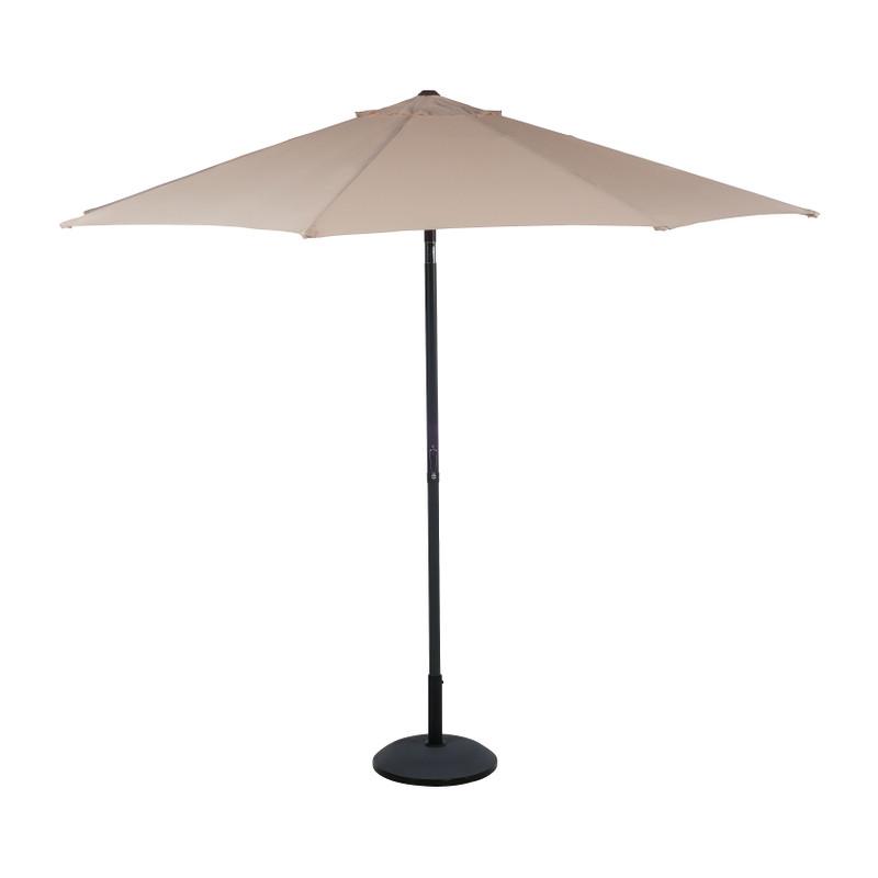 Parasol taupe - ⌀3 meter