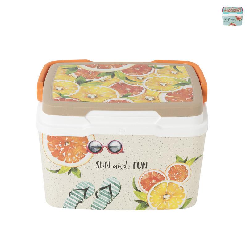 Koelbox zomerfruit - diverse kleuren - 5 liter