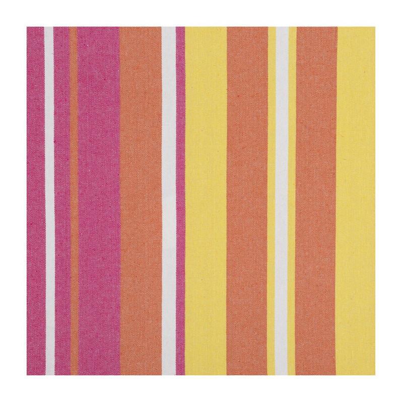 Hangmat oranje / wit / geel