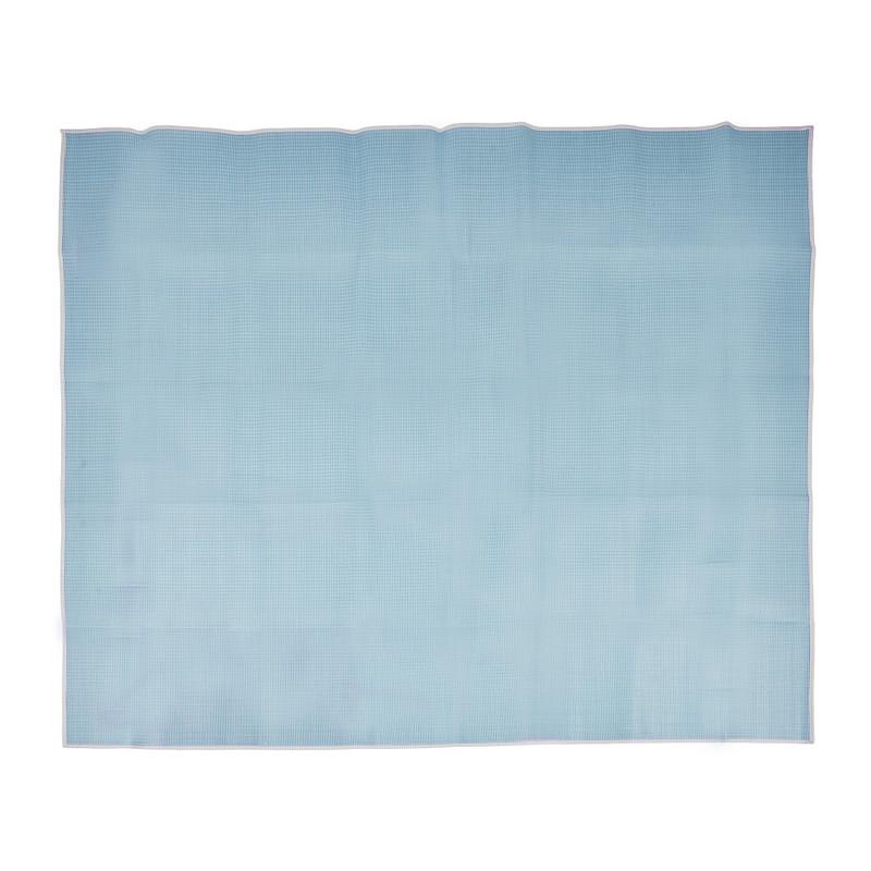 Campingmat - blauw - 180x200 cm