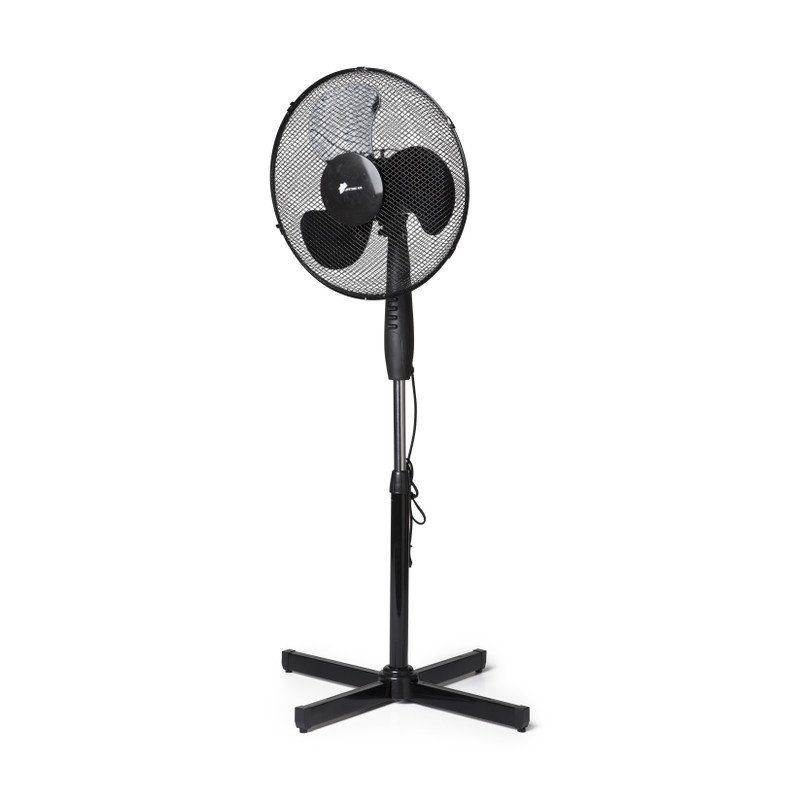 Ventilator op voet - zwart - ⌀43x128 cm