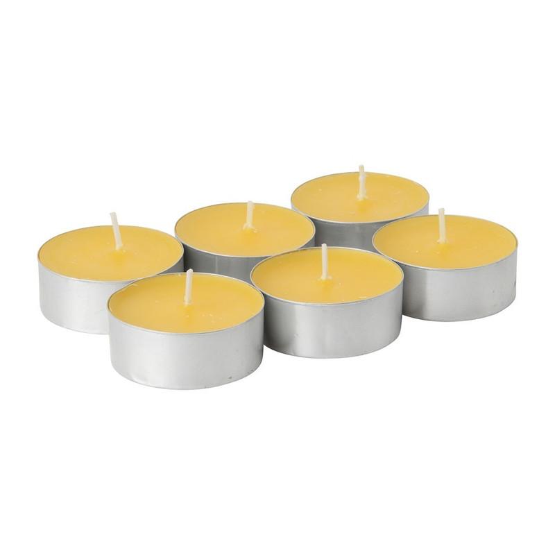 Citronella maxilichten - 6 stuks