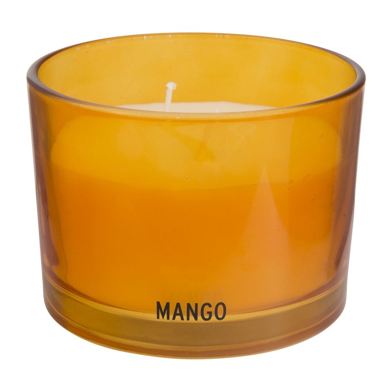 Buitengeurkaars - mango - 8x11 cm