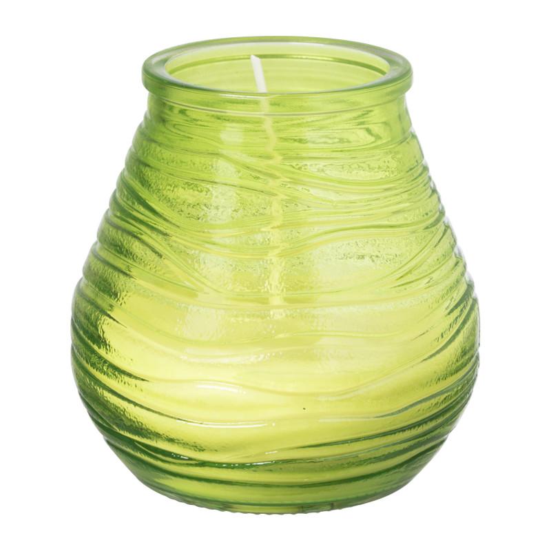 Groene Kaarsen Bolsius.Bolsius Lowboy Kaars Groen