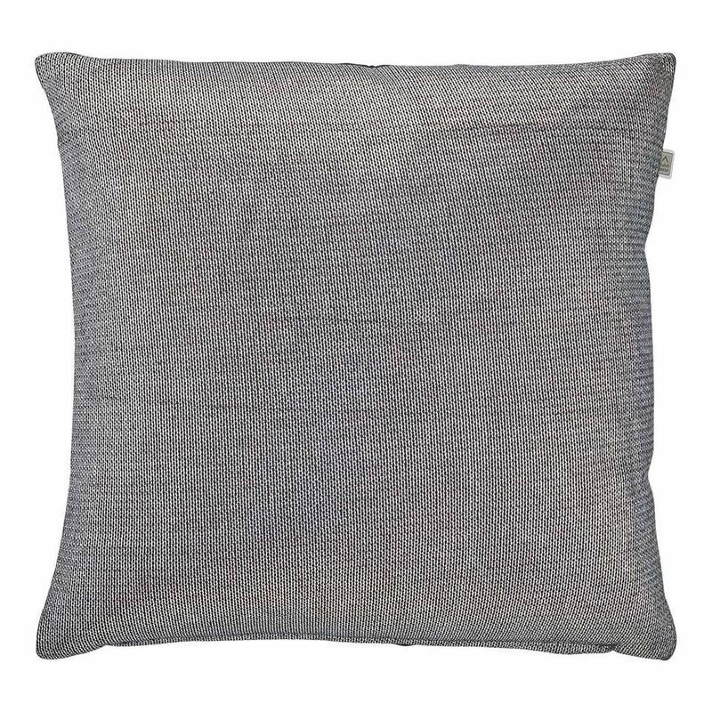 Dutch Decor kussen Imran - zwart - 45x45 cm