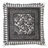 Dutch Decor kussen Ranfurly - zwart - 45x45 cm