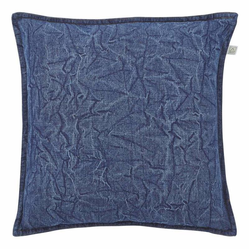 Dutch Decor kussen Criadera - blauw - 45x45 cm