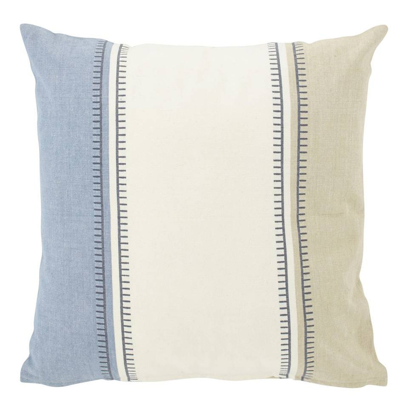 Dutch Decor kussen Demetro - denim - 45x45 cm