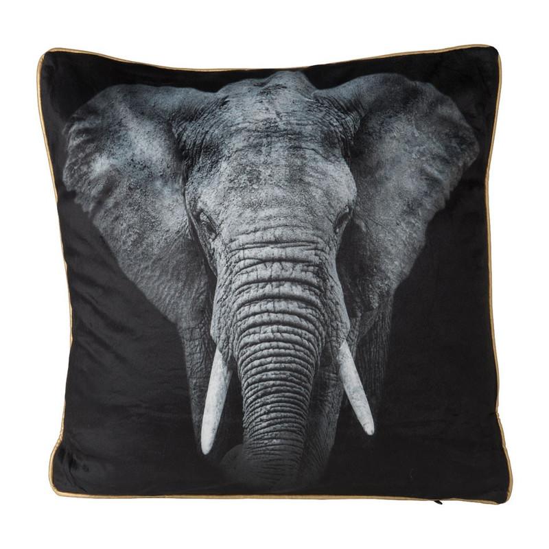 Kussen olifant - 45x45 cm