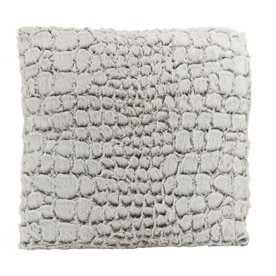 Kussen dierenvacht - wit/bruin- 45x45 cm