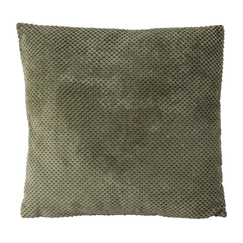 Kussen blokje - groen - 45x45 cm