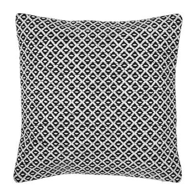 Kussen zwart/wit - 45x45 cm