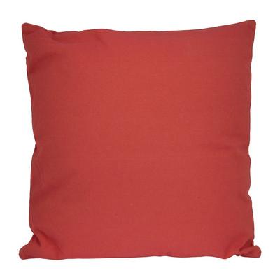 Kussen vierkant - rood - 60x60 cm