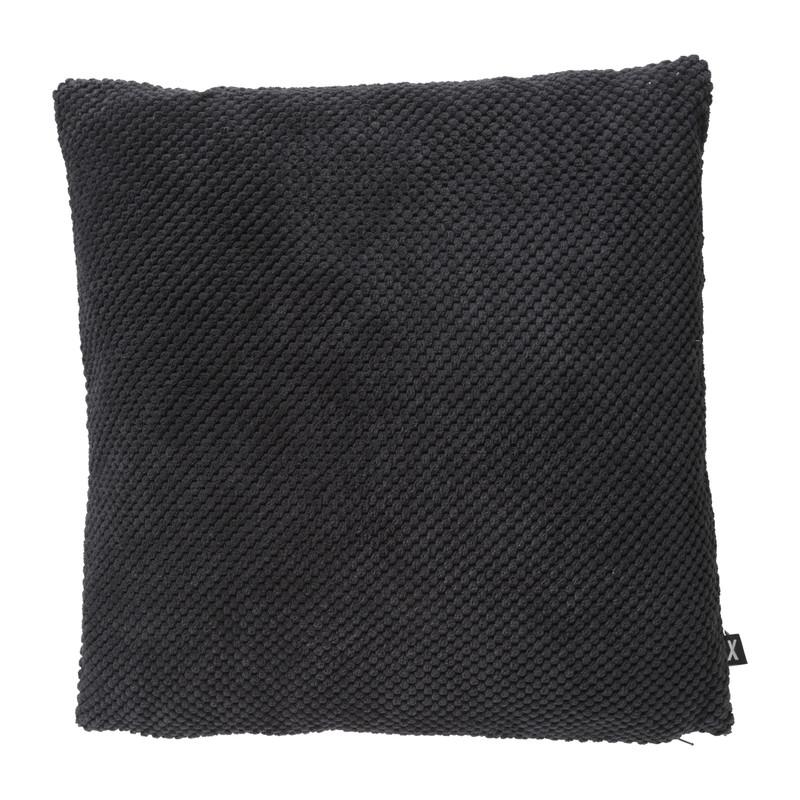 Kussen blokje - zwart - 45x45 cm