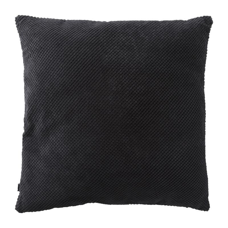 Kussen blokje - zwart - 60x60 cm
