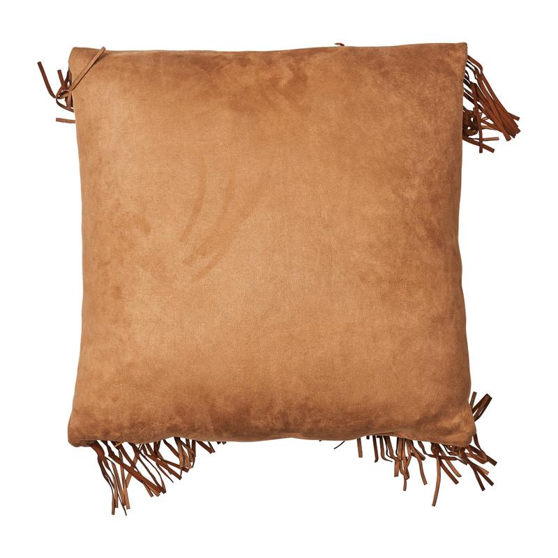 Kussen cowboy franjes - 45x45 cm