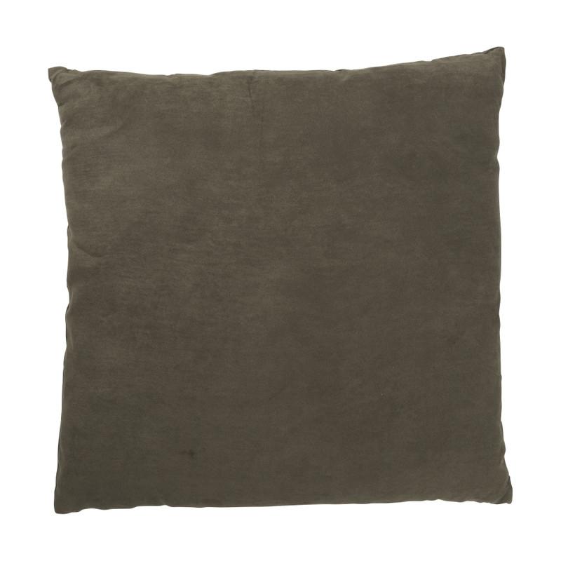 Kussen suedine - pine green - 45x45 cm