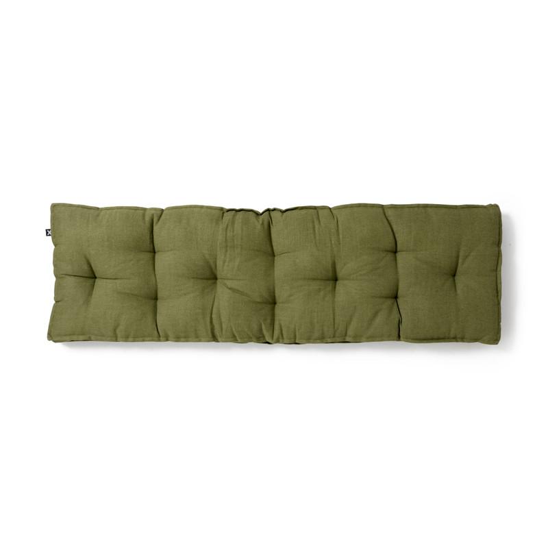 Kussen bankje teak - groen - 35x120 cm