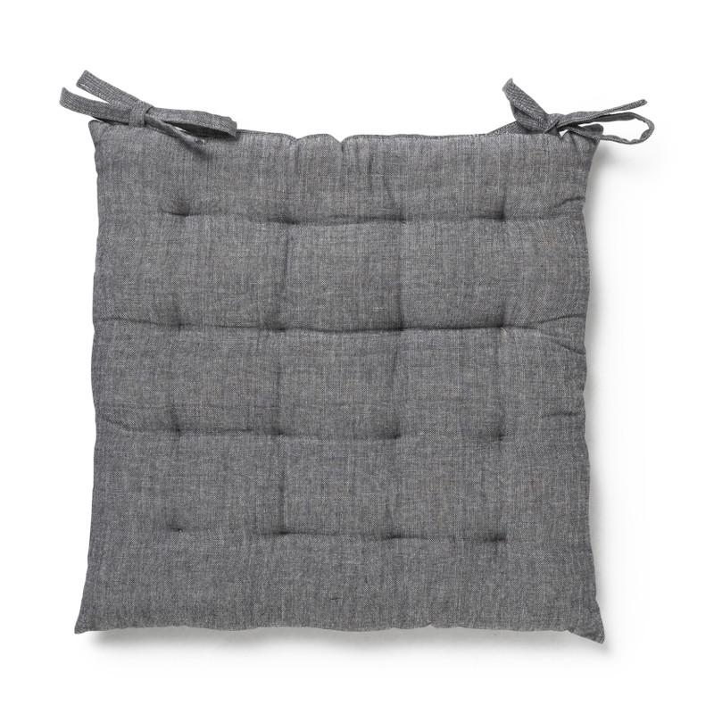 Zitkussen - grijs - 40x40 cm