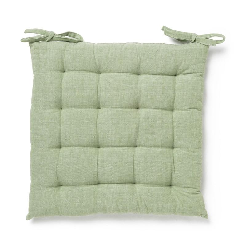 Zitkussen - groen - 40x40 cm