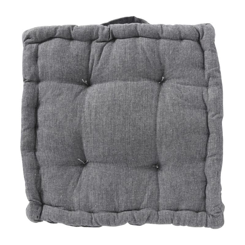 Matraskussen - grijs - 40x40 cm